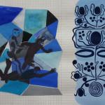 'Vastgesteld', gouache, 21 x 29 cm,2017