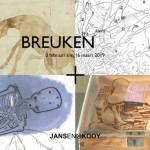 Uitnodiging Breuken, Galerie Jansen & Kooy, 2019